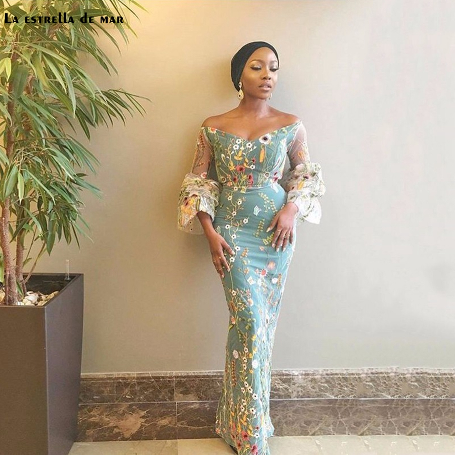 Popular Nigerian Lace Evening Gown-Buy Cheap Nigerian Lace Evening ...