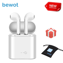 Купить с кэшбэком TWS i7S Bluetooth Earphone Sport Wireless Headset Headphones Phone Mini Earphones for iPhone Oppo Xiaomi SONY with Gift