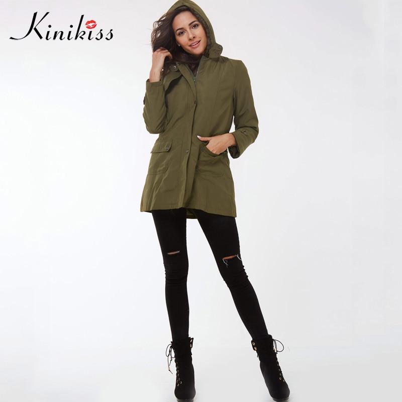 Kinikiss Casual Ladies Basic Coat Jaqueta Feminina Jacket Warm Long Sleeve Women Parkas Cotton Women Winter Jacket #4