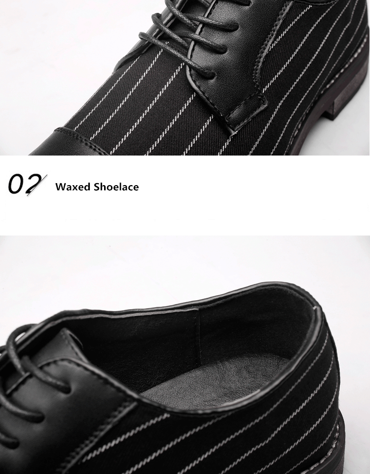 Misalwa New Unique Men Stripes Oxfords Men Loafers Men Casual Daily ... fc22436b28be