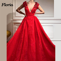 Arabic Peach Evening Dresses Sequined In Dubai Aibye Sleeveless Red Formal Party Gowns Robe de soire Moroccan Kaftans Prom Dress