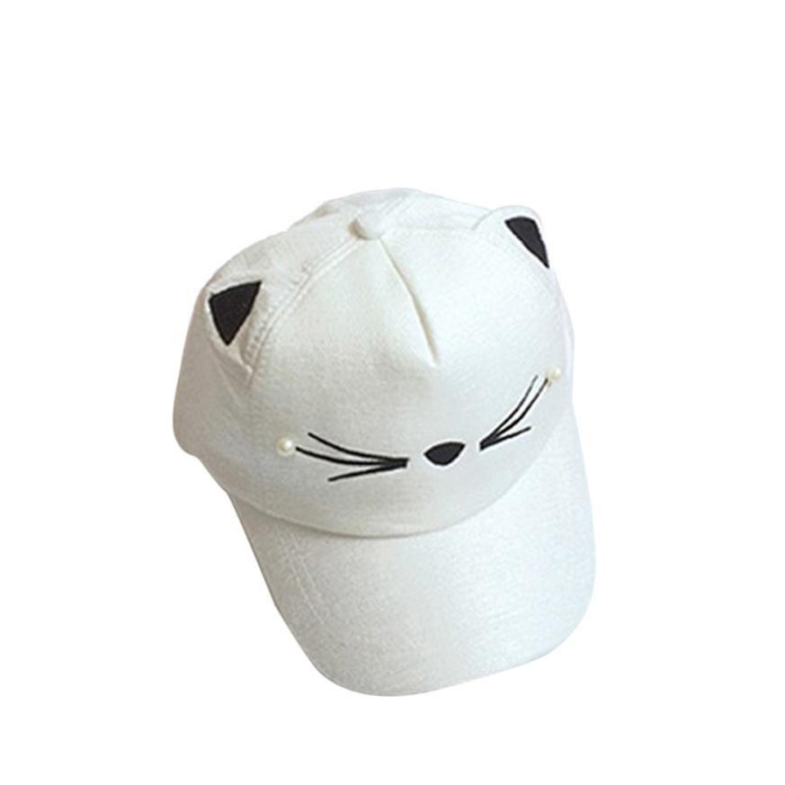 shaunyging # 4004   Kids Baby Bunny Rabbit Visor Baseball Cap Cotton Peaked Hat