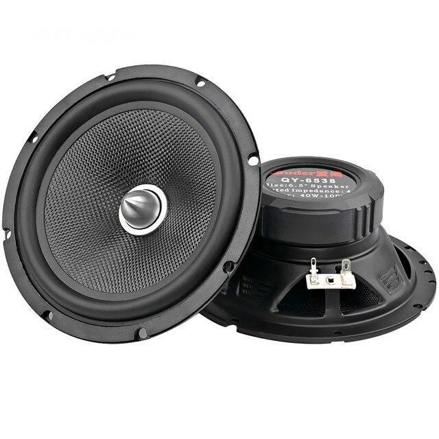 2Pcs 6.5 אינץ אודיו לרכב רמקולים 4 אוהם 60W בינוני בס רמקול מוסיקה DIY HIFI רמקול עבור בית תיאטרון & רכב צליל מערכת