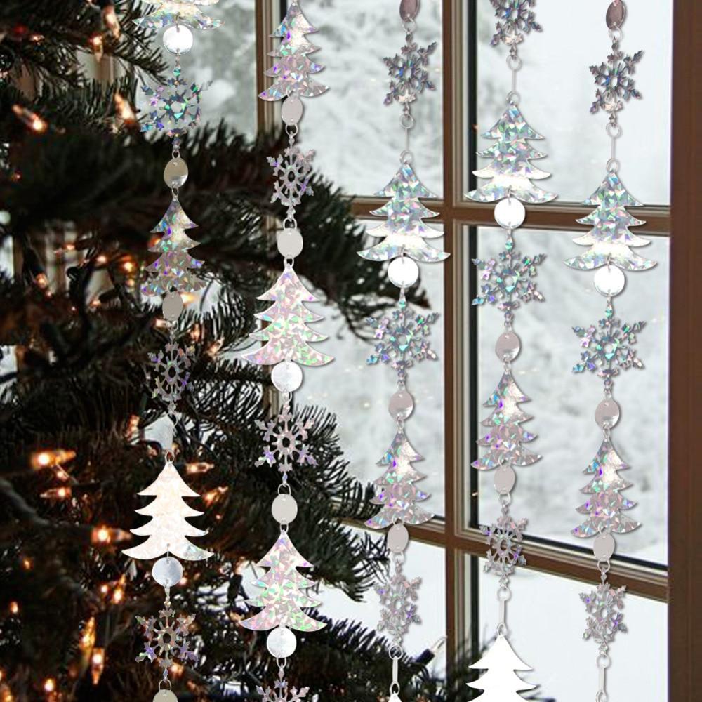 12pcs White Foam Christmas Tree Hanging Ornament Dove Tree Craft XMAS Decoration