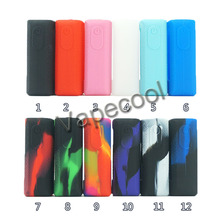5pcs Texture case skin for Vaporesso Luxe Nano 80W Touch Screen TC Kit Box Mod Vape Silicone Cover Sleeve Wrap shell gel