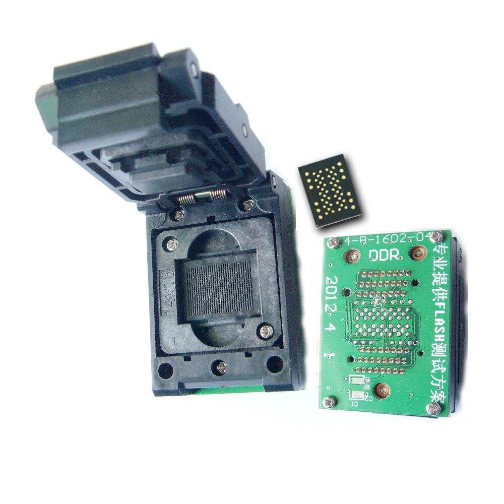 LGA 52 To TSOP48 flip adapter LGA52 to TSOP48 scoket  LGA52 test socket programming Pitch 1.0mm 52pinLGA 52 To TSOP48 flip adapter LGA52 to TSOP48 scoket  LGA52 test socket programming Pitch 1.0mm 52pin