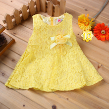 Baby Girl Cotton Dress Party Clothing