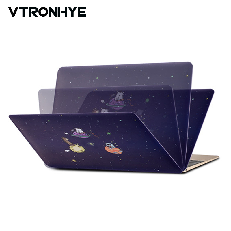 VTRONHYE Case for Macbook 13 Case Air 11 13 Pro Retina 13 15 inch Colorful Laptop Case Protective Shell for Macbook Pro 13 Case contemporary waterfall spout basin faucet single handle bathroom vessel mixer tap chrome finished