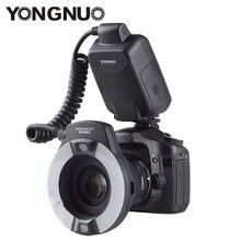 Кольцевая вспышка Yongnuo YN-14EX TTL для макро съемки, подходит для Canon 5Ds 5Dsr 760D 5D Mark III 6D 7D 60D 70D 700D 650D 600D