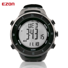 Promo offer EZON Altimeter Barometer Thermometer Compass Weather Forecast Outdoor Fun Men Digital Watches Sports Climbing Hiking Wristwatch