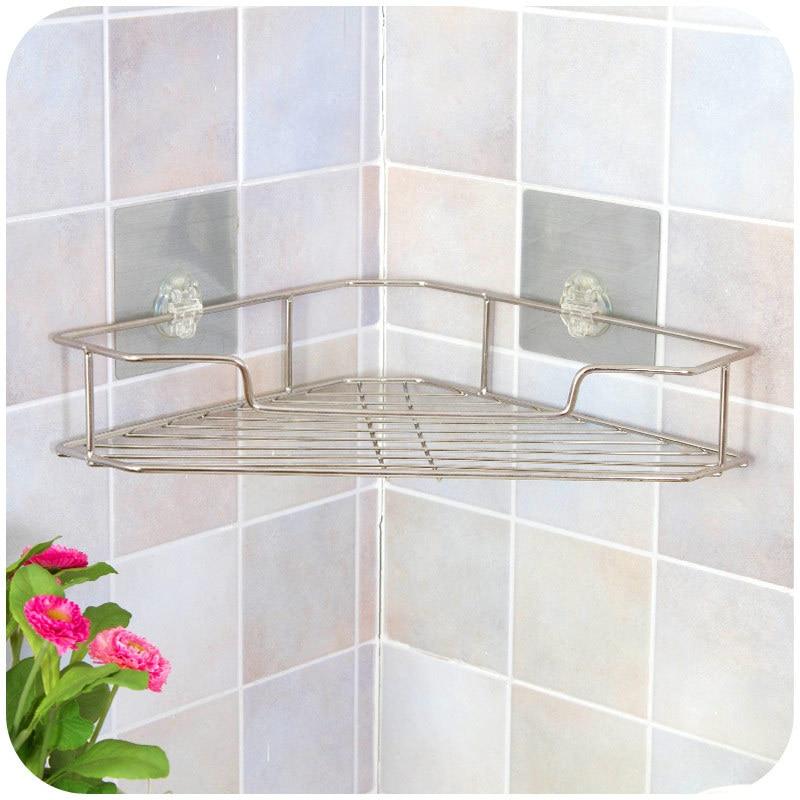 vanzlife magic stick stainless steel toilet wall corner shelf bathroom  angle storage rack China. Popular Metal Corner Shelf Bathroom Buy Cheap Metal Corner Shelf