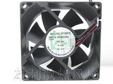 Бесплатная доставка Бесшумный вентилятор шасси rdh8025b2 8025