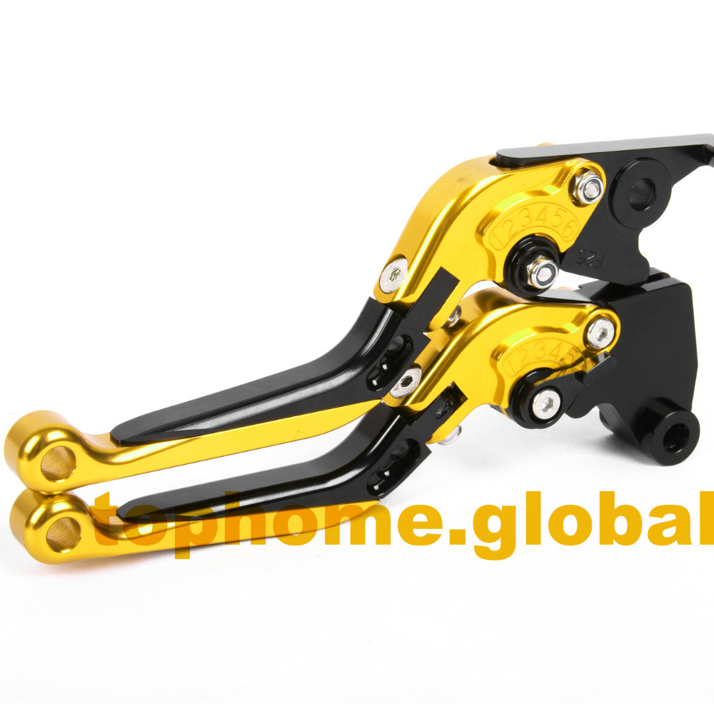 Motorbike Accessories CNC Foldable&Extendable Brake Clutch Levers For <font><b>Buell</b></font> <font><b>1125CR</b></font> 2009 image