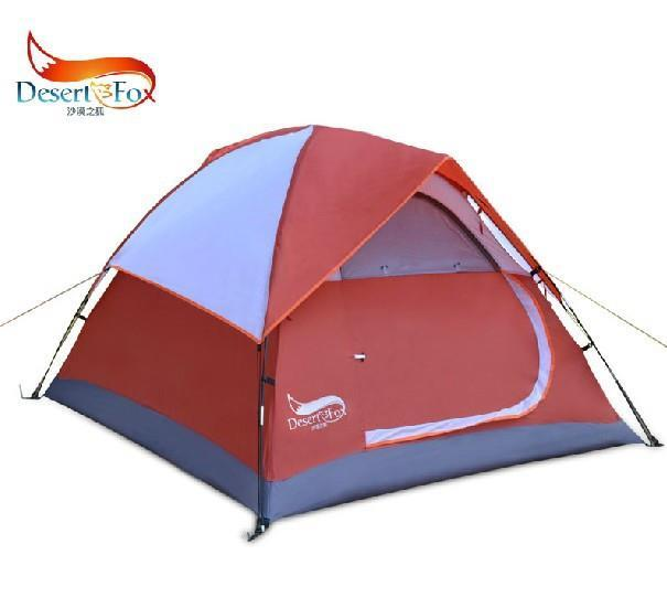 Camping Tent High Quality Waterproof Fiberglass Double Layer 3-4 Outdoor Pop up Hiking Automatic Beach Tents 2 person 2014 New