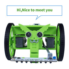 SunFounder Rollman STEM Learning Educational DIY Robot Kit GUI-Mixly for Arduino Beginner Bluetooth Controlled Robot Toy