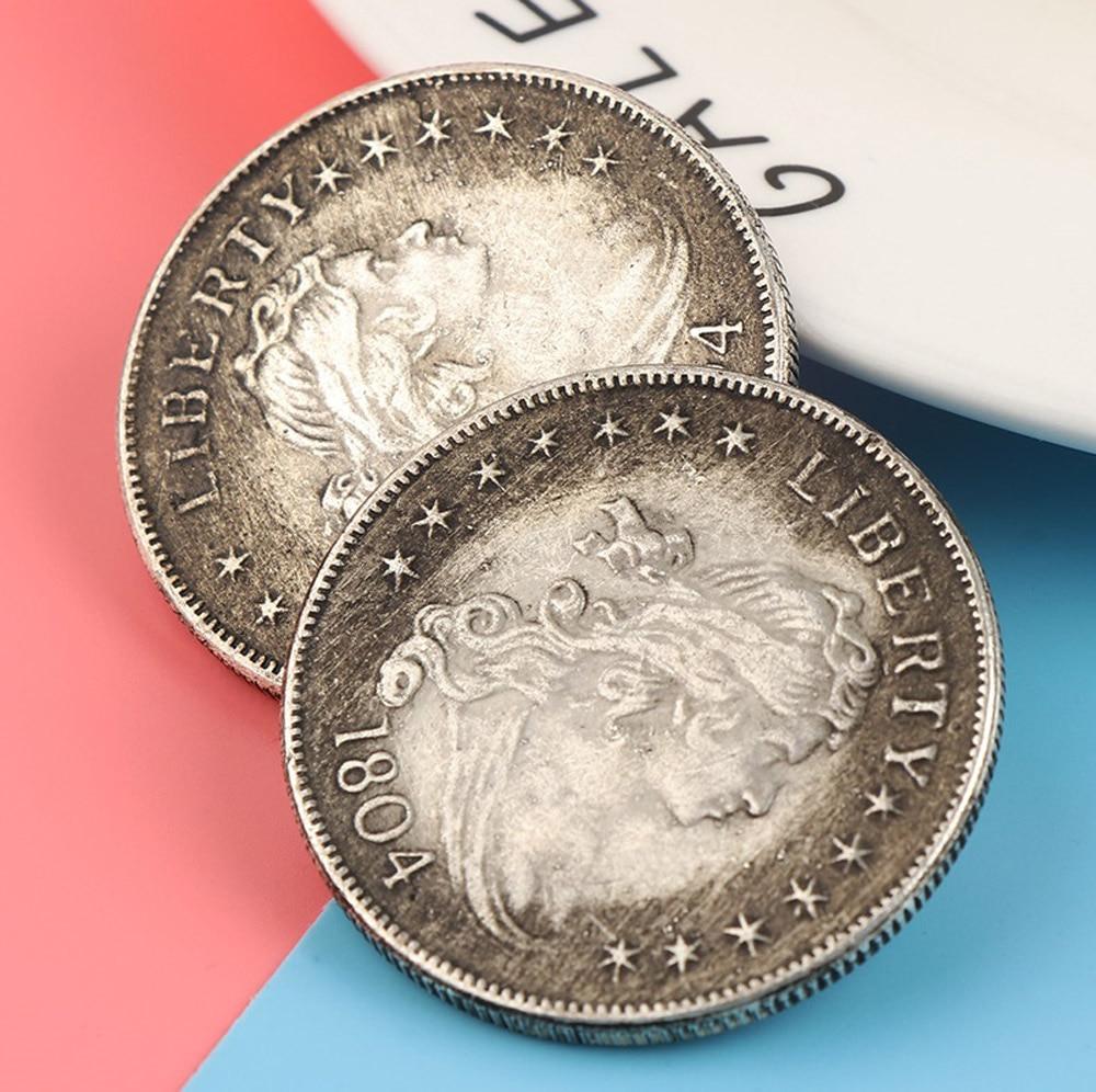 AD 1804 USA United Morgan Dollar $1 Silver Coin Collection Antique Dollar Coin Collection