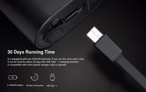 Image 5 - Original Youpin Mijia Zhibai Hause Elektrische Rasierapparate Für Männer Wasserdicht Nass Trocken Rasieren Doppel Ring Klinge USB Aufladbare Rasiermesser