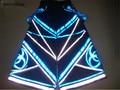 Envío Libre Pantalones DJ PHAT fluoreszierend Raver mineral Techno Hardstyle Tanz Manguera Melbourne Shuffle Pantalones NUEVA
