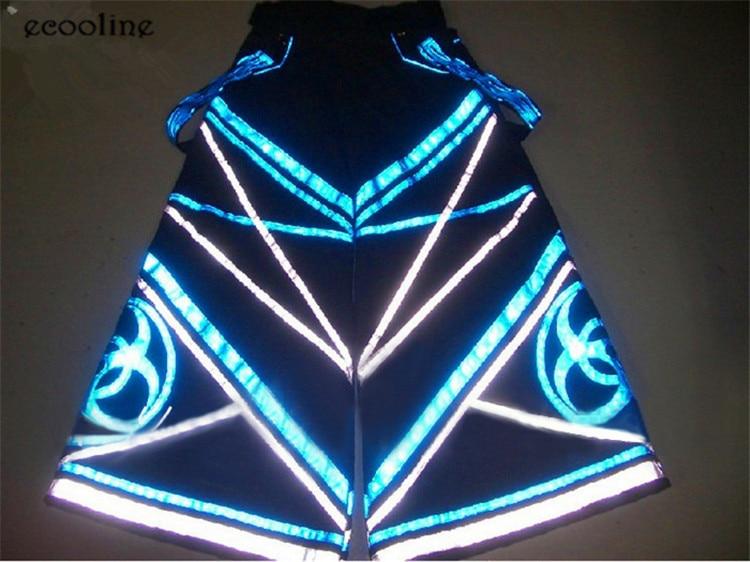 Free Shipping Fluoreszierend DJ PHAT Pants Raver Ore Techno Hardstyle Tanz Hose Melbourne Shuffle Pants NEW