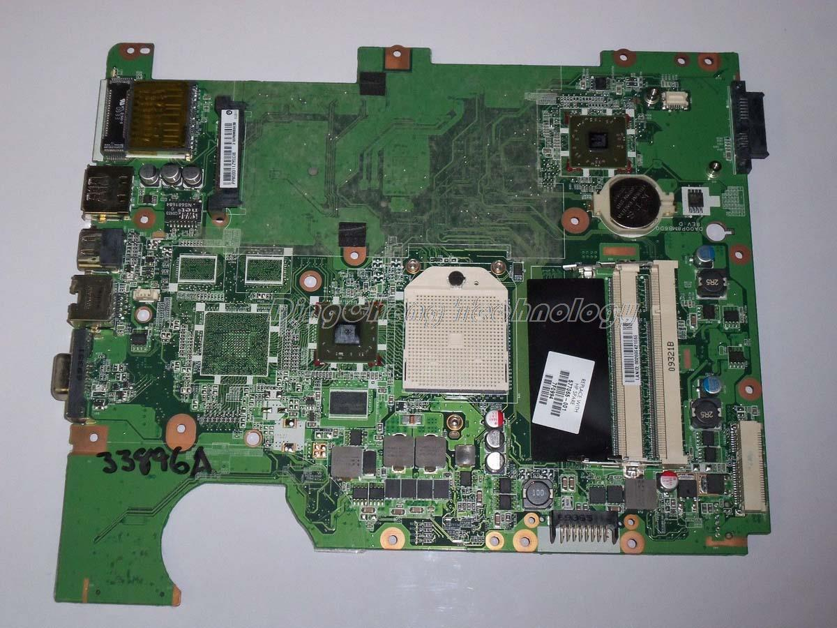 SHELI laptop Motherboard For hp compaq CQ61 G61 577065-001 DAOOP8MB6D1 for AMD cpu with integrated graphics card 100% tested original 615279 001 pavilion dv6 dv6 3000 laptop notebook pc motherboard systemboard for hp compaq 100% tested working perfect