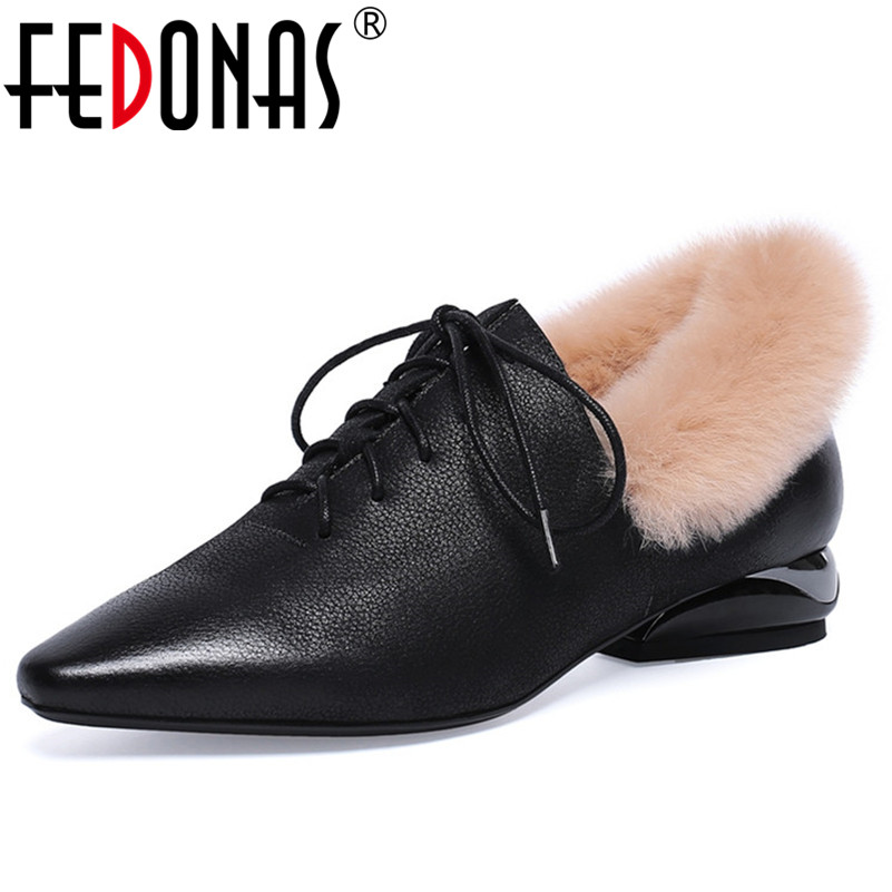 FEDONAS Retro Elegant Women High Heels Pumps Genuine Leather Pointed Toe Lace Up Party Wedding Shoes Woman Basic Pumps Shoes