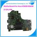 Для ASUS K56CB K56CM Rev 2.0 Intel Motherbaord i7 CPU PM Полностью Протестированы Основной Плате