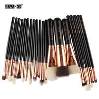 2016 New Style 20 Pcs Professional Set Make Up Tools Kit Powder Blending Eye Shadow Brushes