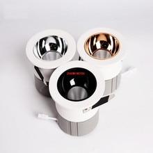 Супер яркий COB светодиодный светильник 10 Вт 15 Вт 30 Вт 40 Вт Светодиодный прожектор для отеля AC 85-265 в