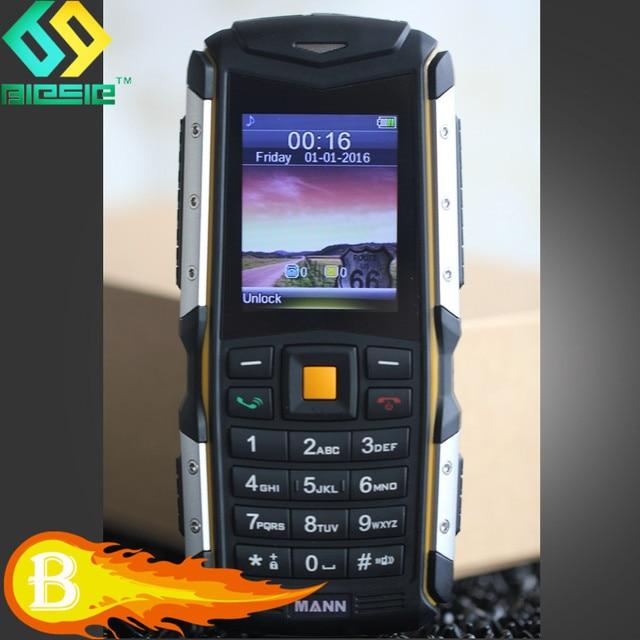 MANN ZUGS WCDMA 3G GSM IP68 Waterproof Smartphone Dustproof Shockproof Rugged Outdoor