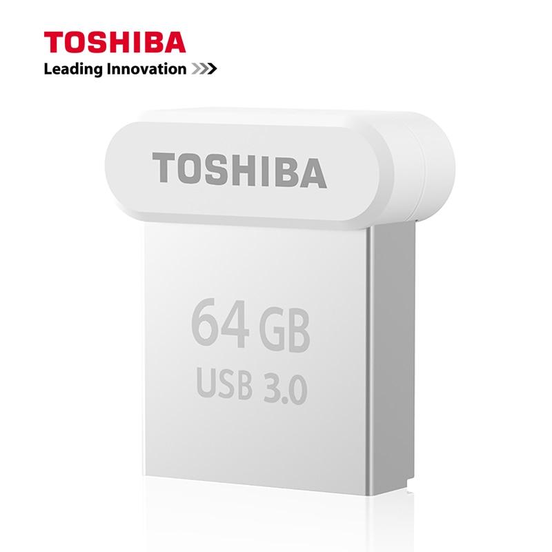 Galleria fotografica <font><b>TOSHIBA</b></font> USB 3.0 Flash Drive 32GB Pen Drive 64GB Metallo Mini NAND Flash Memory Stick 128GB 120 MB/S U Disk 2017 NUOVO Per Il settore automobilistico