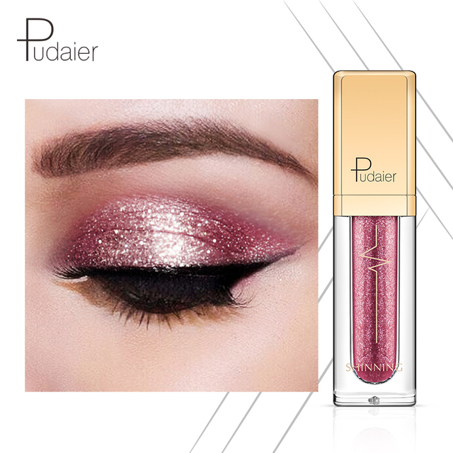 18 Colors Shine Smoky Eyeshadow Waterproof Dimond Glitter Liquid