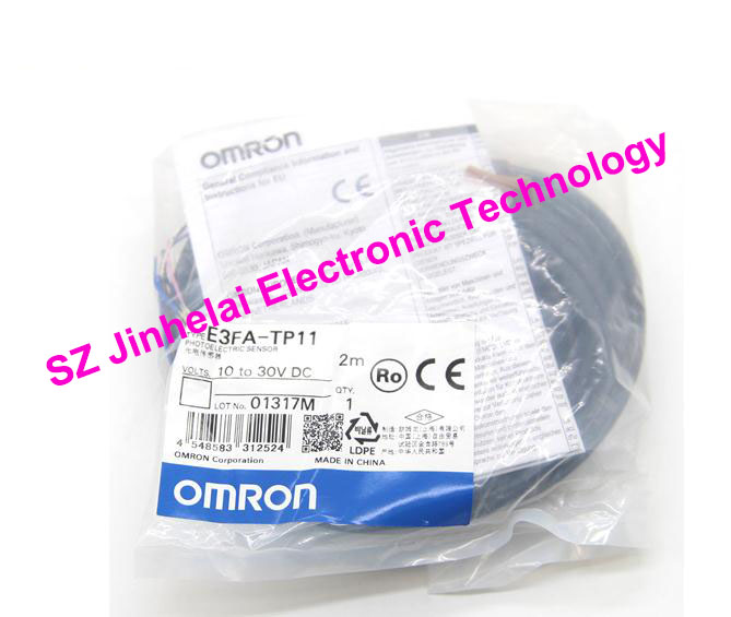 New and original E3FA-TP11, E3FA-TP21 OMRON Photoelectric sensor  10-30VDC  2M BY OMS new and original e3t st21 omron photoelectric switch 2m 12 24vdc photoelectric sensor
