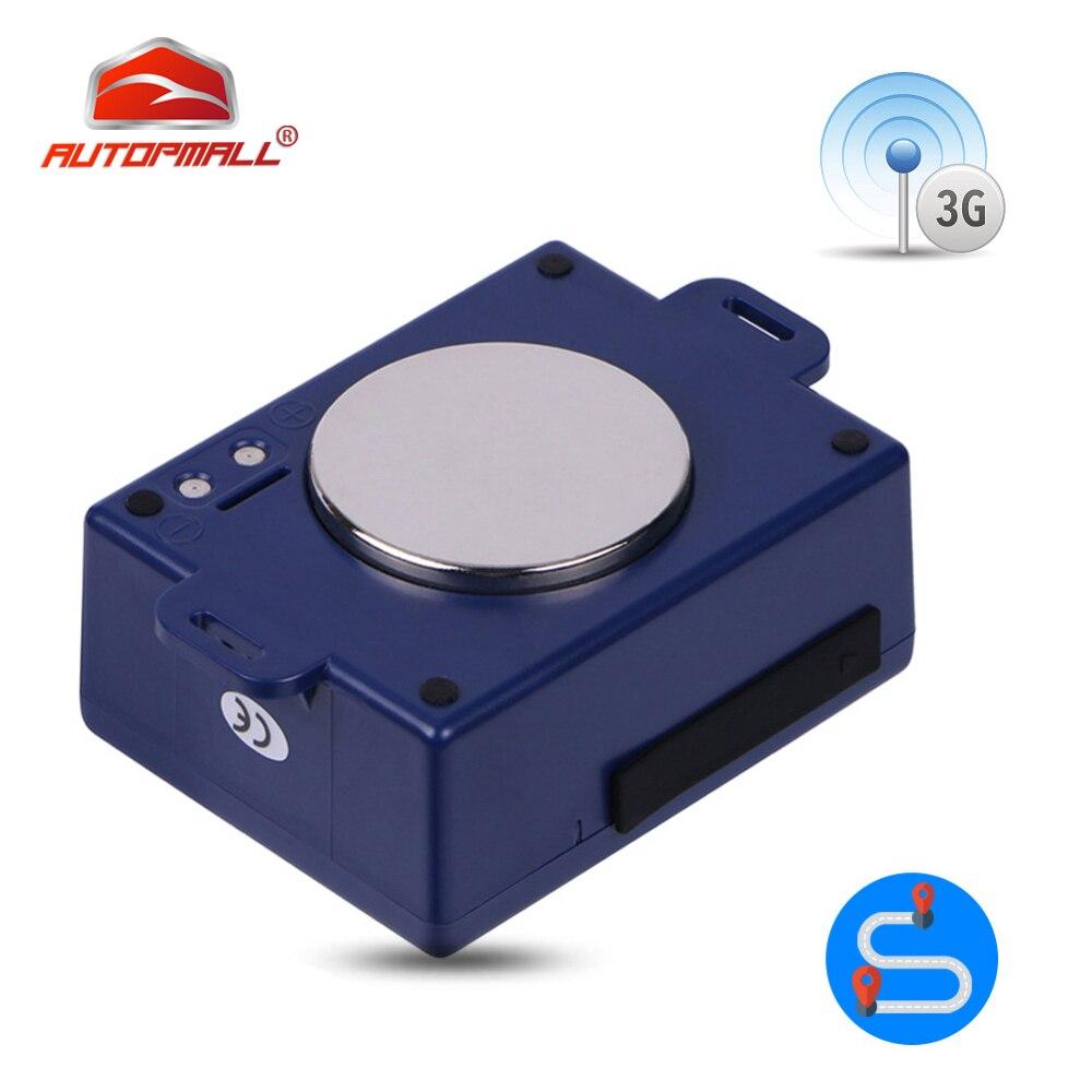 3G véhicule GPS Tracker 6000 mAH batterie forte aimant WCDMA GSM localisateur utilisation mondiale étanche en temps réel dispositif de suivi CCTR-800G