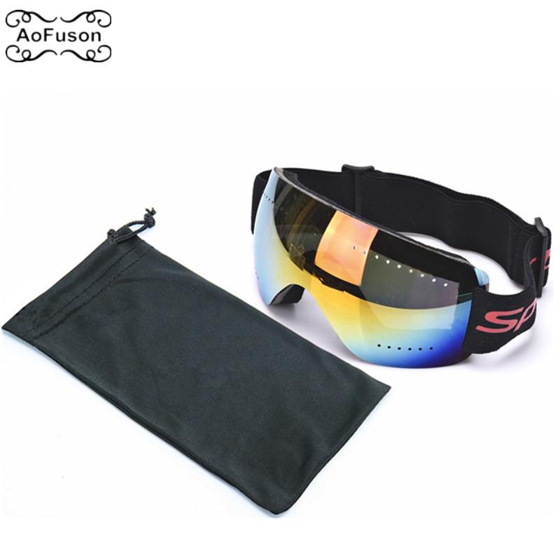 Ski Goggle UV400 Anti-wind Rimless Glasses Snowboard Snowmobile Cycling Snow Goggles Gafas Motocross Women Men Child Eyewear