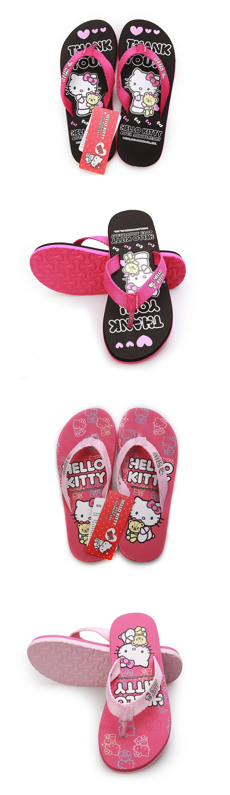 Hello Kitty Flip-Flops 8