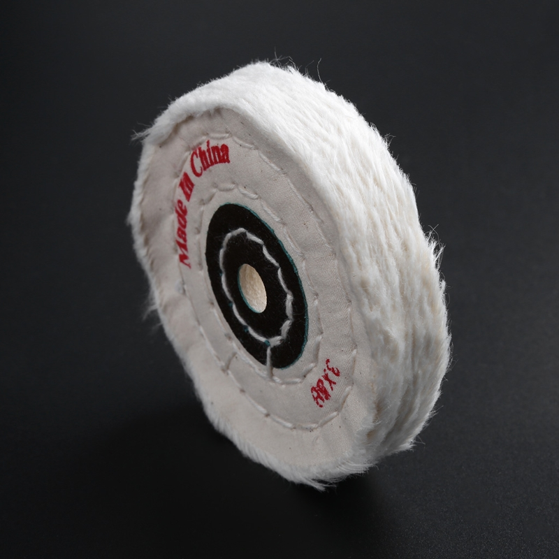 3'' Cloth Buffing Polishing Wheel Buffer Polish Jewelry Grinder Pad Handcraft