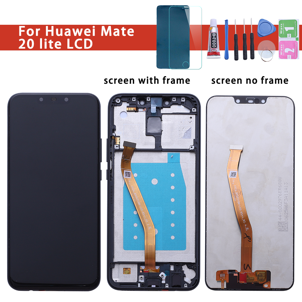 For Display Huawei Mate20 Lite LCD Touch Screen Digitizer For Huawei Mate20 Lite LCD Mate 20 Lite SNE LX1 LX2 LX3 Screen