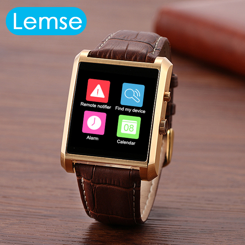 Lemse DM08 Bluetooth Smart Watch IPS Full View Waterproof 1 5MP font b Camera b font