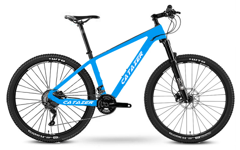 "HTB12c4VaiLxK1Rjy0Ffq6zYdVXa2 - Catazer Carbon Mountain Bike 17""/19""21"" Carbon Fiber Frame Bicycle 29er Wheel 20 Speeds Profession MTB Bicycle Disc Brake Bike"