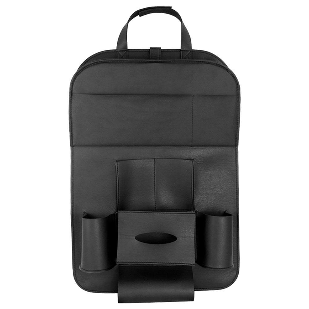 Multicolor Hanging Bag Seat Back Bag Auto Seat Bag Children Mat Anti-Kick Pad Protector Auto Storage Bag