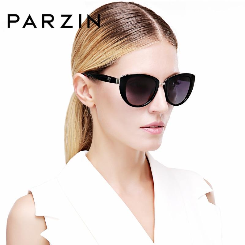 34f2b54306 PARZIN Brand Elegant Sunglasses Women Big Frame Real Polarized Anti-UV400 Sun  Glasses High Quality