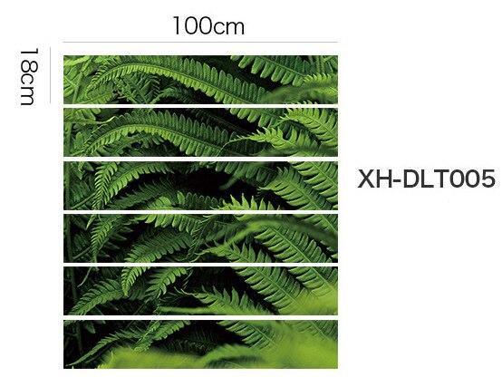 Домашние лестницы декорации самоклеющиеся наклейки, близко к природе, пункт № XH-DLT - Цвет: XH-DLT005