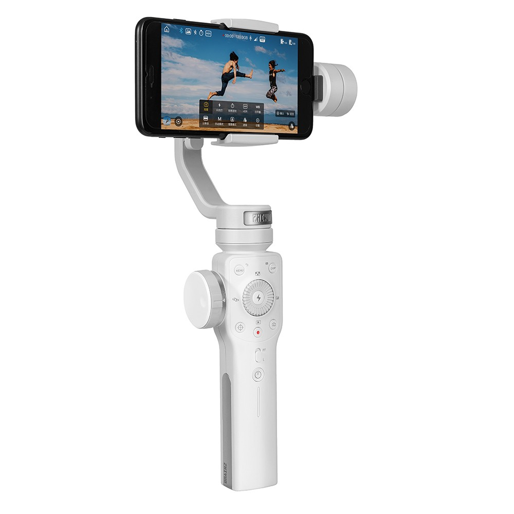 ZHIYUN Smooth 4 3 Axis Handheld Gimbal Portable Stabilizer Camera Mount For Smartphone Iphone Action Camera