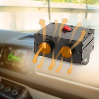 Car Truck bus boat Heater Fan 600W 12/24V Winter Warm Windscreen Demister Auto Heating Cooling power Heating Window Defroster