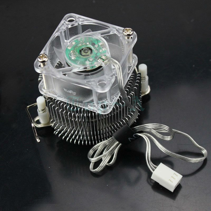 1pcs Gdstime PC Cooler NB-400AL Northbridge Radiator Computer Motherboard North Bridge Cooling with 40x20mm Fan 40mm personal computer graphics cards fan cooler replacements fit for pc graphics cards cooling fan 12v 0 1a graphic fan
