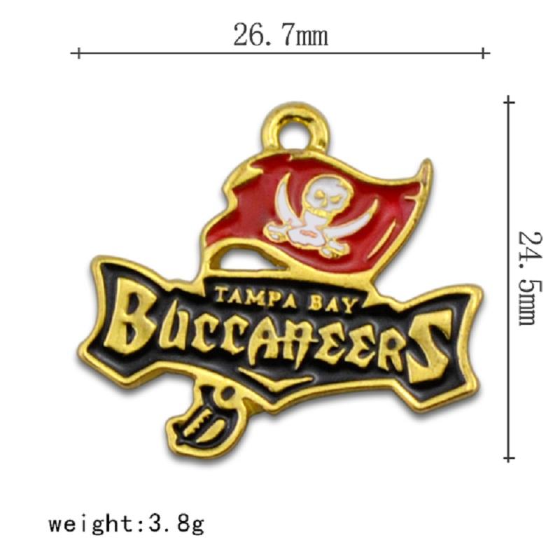 Tampa Bay Buccaneers charm (4)