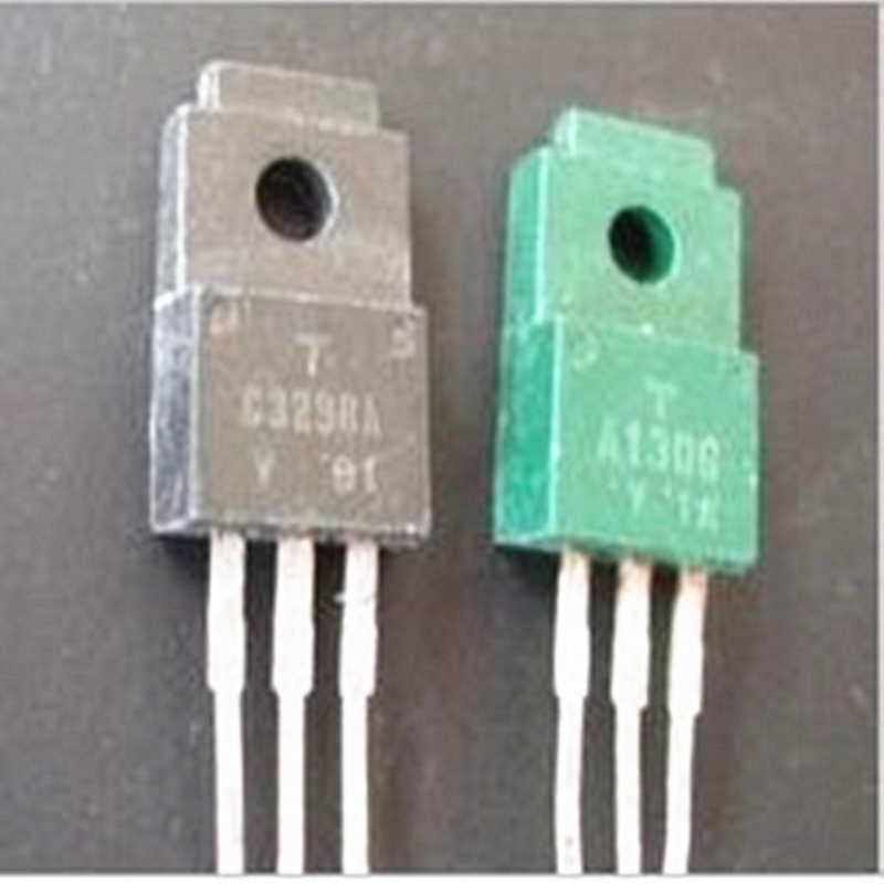1 par de triodo A1306 C3298/2SA1306 2SC3298 para amplificador de potencia audio diy de segunda mano
