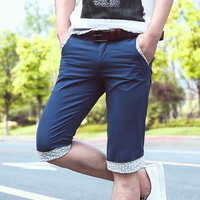 Men S Cotton Casual Shorts Men Summer Style Breathable Clothing Sweat Large Size Fat Guy Five