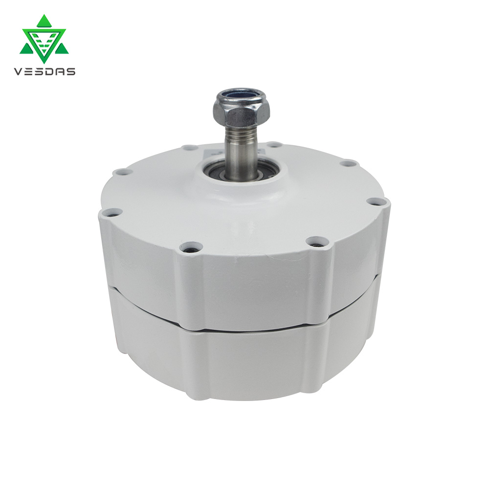 600W 600r/m 12/24V/48V Permanent Magnet Generator AC Alternator for Vertical Wind Turbine Generator