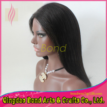 Cheap Virgin Brazilian Lace Front Human Hair Wig For Black Women Affordable 130 Density Silky Straight Full Lace Human Hair Wigs